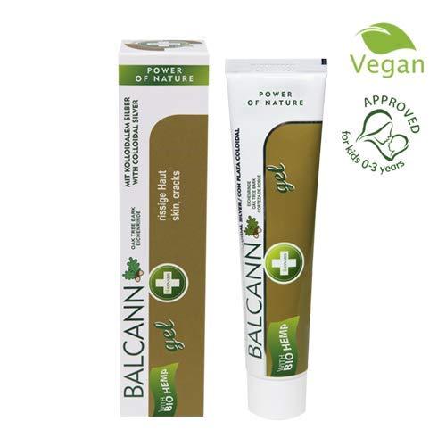 Gel mit Hanfsamen und Eiche für beschädigte Haut Balcann Annabis (75ml) -
