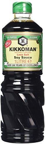 [ 1000ml ] 43% weniger Salz als die traditionelle KIKKOMAN Sojasauce