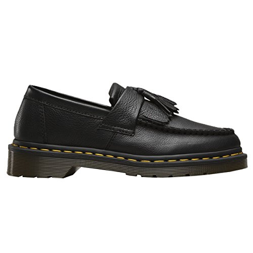 Dr. Martens Adrian Black Virginia, Mocassini Donna Nero (Black)
