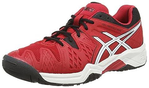 Asics Gel-resolution 6 Gs, Chaussures de Tennis Mixte adulte -