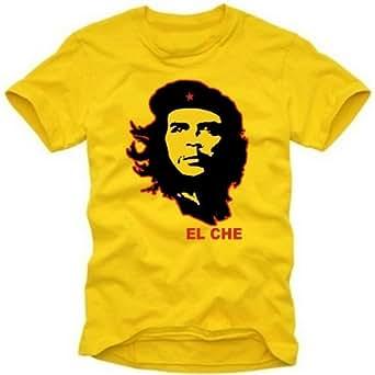 coole-fun-t-shirts Herren t-shirt CHE GUEVARA  EL CHEGELB, GR.M