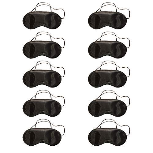 10pcs Masque de Yeux Masque de Sommeil Kawaii Style Sommeil Cache Yeux Masque de Nuit Confortable Douce Masque de Voyage