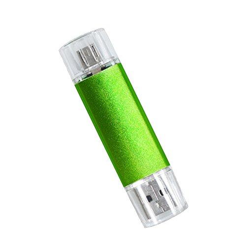 Colourstone icro USB-Adapter-Geb¨¹hr 32GB USB 2.0 OTG-Flash-Laufwerk Gr¨¹n