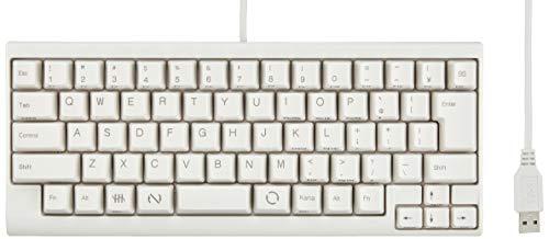 USB-Tastatur Wei? PD-KB220W / U ohne Druck Wunder PFU Happy Hacking Keyboard Lite2 japanischen Array (Japan-Import)