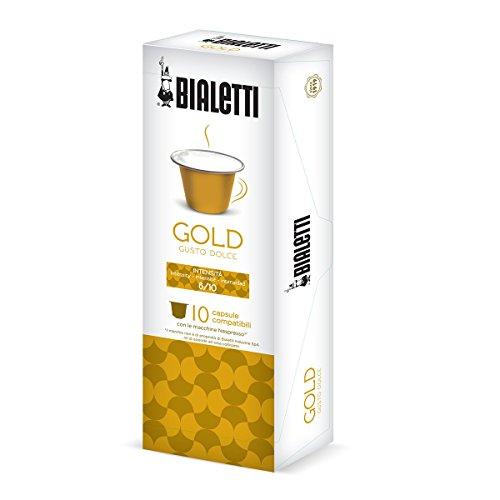 Bialetti-97000003-Nespresso-Kapseln-gold-weicher-Geschmack-10-Stck