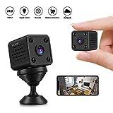Caméras Espion - CUSFLYX Mini 1080P HD WiFi Sans Fil Caméras Détection de...