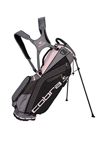 Cobra Golf 2019 Ultralight Standtasche, Herren, Ultralight Stand Bag Ul19, schwarz/pink - Stand Bag Cobra