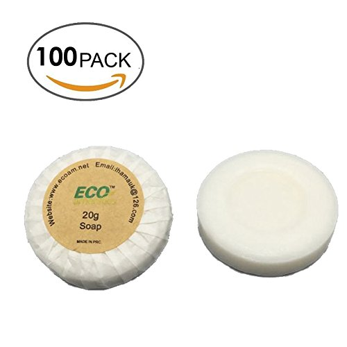 eco-amenities-round-tissue-pleated-20g-cleaning-soap-savon-100-bars-per-case