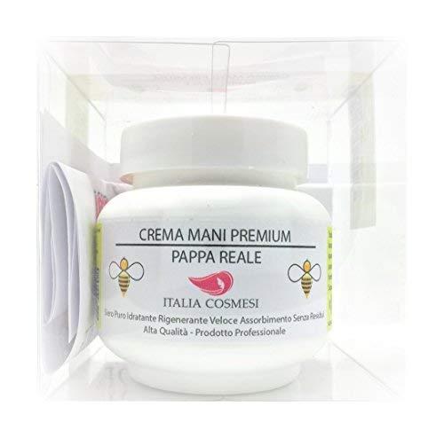 Crema Mani Protettiva Premium Estratto di Pappa Reale Siero Puro Rigenerante Veloce Assorbimento Idratante Riparatrice per Pelle Sensibile 100 ml Professionale