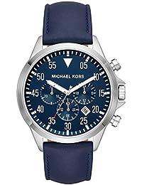 0428c279dbef8 Michael Kors Reloj Cronógrafo para Hombre de Cuarzo con Correa en Cuero  MK8617