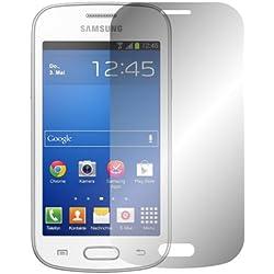 Slabo 2 x Film de Protection d'écran pour Samsung Galaxy Trend Lite Protection écran Film Ultra Clair Invisible