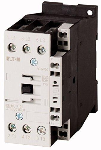 Eaton 277608 Leistungsschütz, 3-polig + 1 Öffner, 7, 5 kW/400 V/AC3
