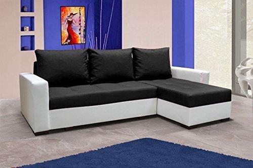 Sofá Newark5 sofá de esquina con función cama sofá cama