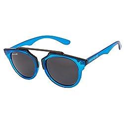 Danny Daze Round Sunglass (Blue) (D-4023-C6)