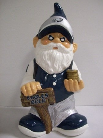Forever Collectibles NFL Philadelphia Eagles Team Gnome Bank-One Size Passend für alle
