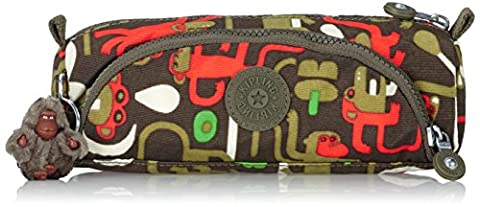 Kipling - CUTE - Medium Pen Case - Monkey Frnds Kh - (Print)