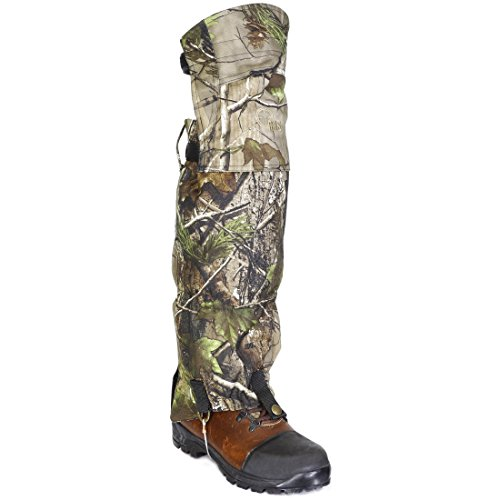 41h0B2tzUaL. SS500  - Raptor hunting solutions Realtree APG Waterproof Knee Protection Mountain Hiking Gaiter Camo