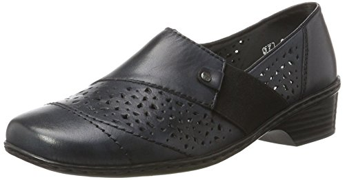 Rieker Damen 48265 Slipper, Blau (Lake/Pazifik / 14), 42 EU
