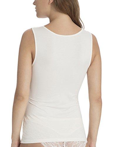 Calida Damen Unterhemd Marielle Elfenbein (Pearled Ivory 060)