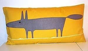 """Scion Mr Fox de coussin en tissu 12 """"x 24"""""""