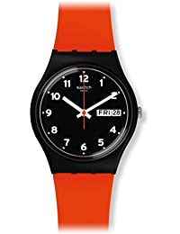 Swatch GB754 Original Gent - Red Grin Watch