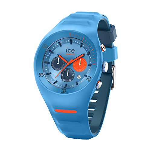 Ice-Watch - P. Leclercq Light blue - Montre bleue pour homme avec bracelet en silicone - Chrono - 014949 (Large)