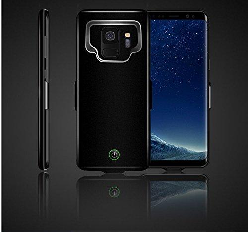 Casewin Custodia Batterie per Samsung Galaxy S8 Plus S9 Plus A8 Plus, 6000mAh Li-Polymer Cover Protettiva Ricaricabile Caricabatterie Chargerp Power Bank Case -