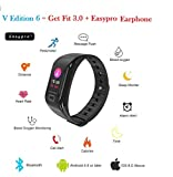 Best Calorie Trackers - Easypro V Edition -6 Smart Fitness Band Smart Review