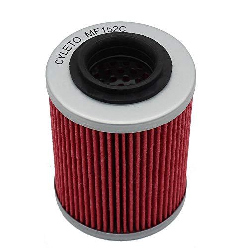 Cyleto Ölfilter for CAN-AM MAVERICK 1000 R 2014 2015 / MAVERICK 1000R TURBO X DS 2015 2016 / MAVERICK 1000R X 2014 2015