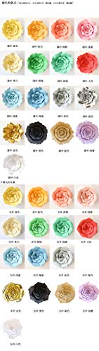 20cm 30cm DIY Papierblumen-Kinder Foto Hintergrund Künstliche Blumen Hochzeit Geburtstag Party-Ausgangswand-Dekoration ()