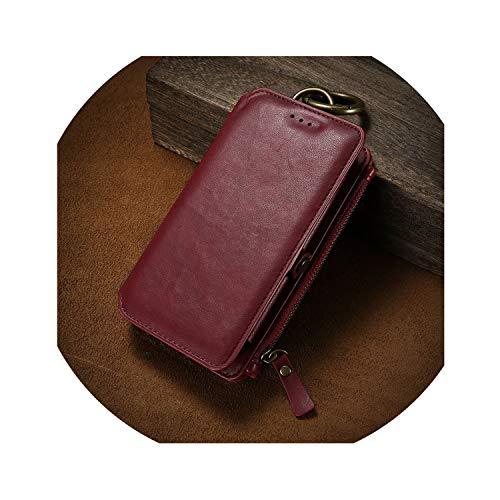 Retro-Mappen-Telefon-Kasten für iPhone 7 7 Plus-XS MAX