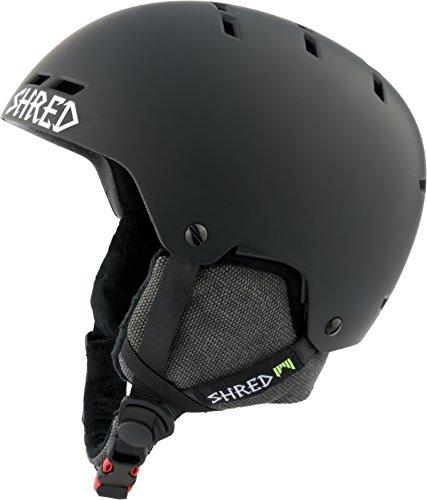 SHRED Helm Bumper Noshock Blackout black, M