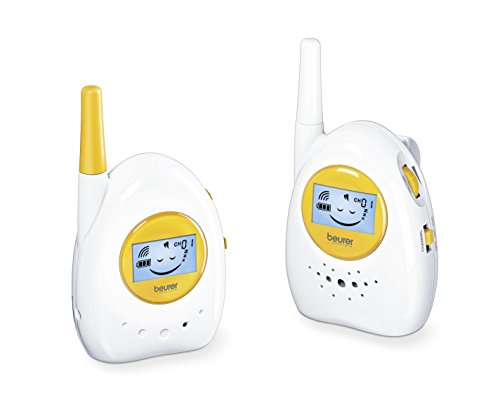 Beurer BY-84 - Vigila bebés, modo ECO+, 800 metros de distancia transmisión