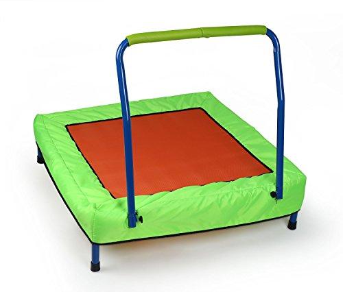 HLC Trampolin mit Griff für Kinder indoor & outdoor