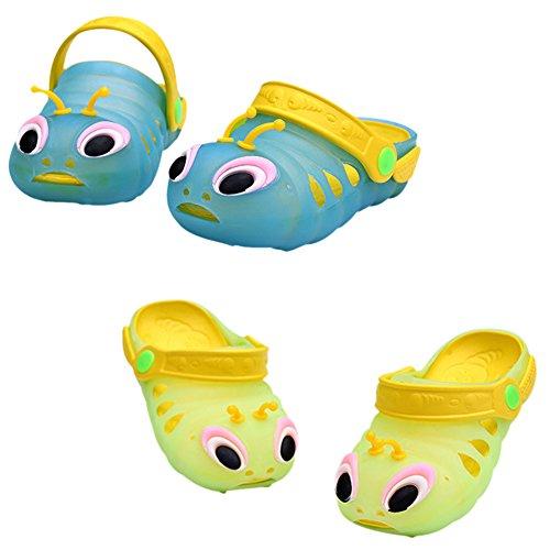 CHIC-CHIC Chaussure Sandales Sabots Mules Enfant Bébé Fille Garçon Clogs Animal Plage Eté