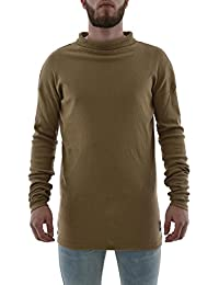 tee shirt manches longues sixth june m2145ptl beige