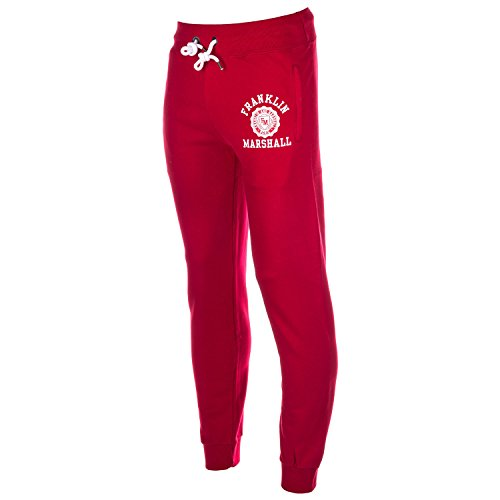 Mens-Franklin-And-Marshall-Jog-Pants-In-Red