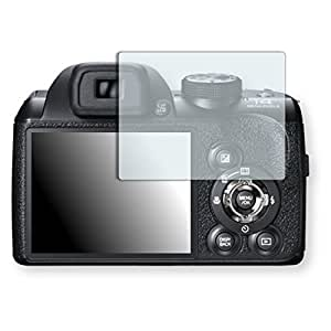 Golebo Crystal Clear screen protector for Fujifilm FinePix S4400 - (Transparent screen protector, Air pocket free application, Easy to remove)