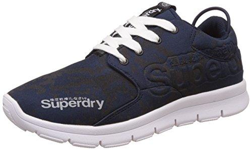 Superdry Scuba Runner, Scarpe da Corsa Donna, Blu (Navy Pythonxpn), 39 EU