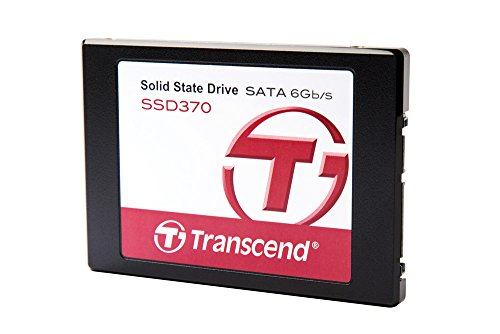 "Transcend TS512GSSD370 - Disco duro sólido interno de 512 GB (2.5"", flash MLC, SATA III), color negro"