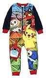Marvel Jungen Schlafanzug Schwarz Schwarz Gr. 7-8 Jahre, Pokemon 7th Gen