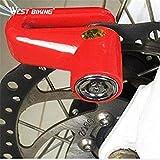 WEST Biking Multi-Function Motorcycle Bicycle Disc Lock/Motorcycle Lock/Locking Rack/Anti-Theft Bike Cycling Bicycle Lock