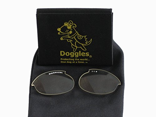 Artikelbild: Doggles ILS Brillengläser Klar ungetönt Hundebrille Gr. XL