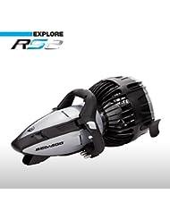 SeaDoo SD15002 RS2 - Scooter para buceo, color negro y gris