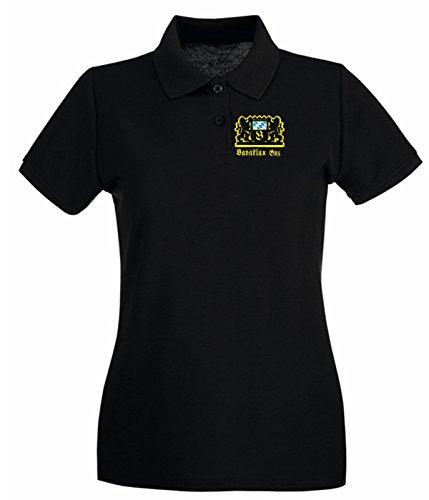 T-Shirtshock - Polo pour femme TSTEM0138 bavarian guy oktoberfest Noir