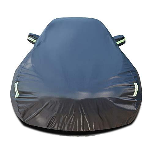 Autoabdeckung Kompatibel mit Chrysler Crossfire Auto Abdeckplane Autoabdeckung Vollgarage Outdoor Autoschutzdecke Auto Autogarage Vollgarage mit Reflexstreifen Wasserdicht Autoplane Ganzgarage