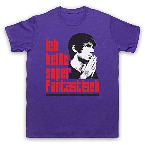 Inspiriert durch Franz Ferdinand Darts Of Pleasure Unofficial Herren T-Shirt Violett