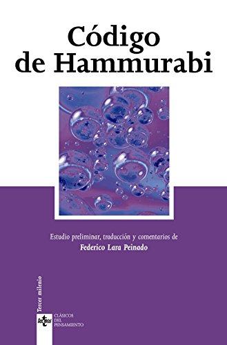 Código de Hammurabi (Clásicos - Clásicos Del Pensamiento)