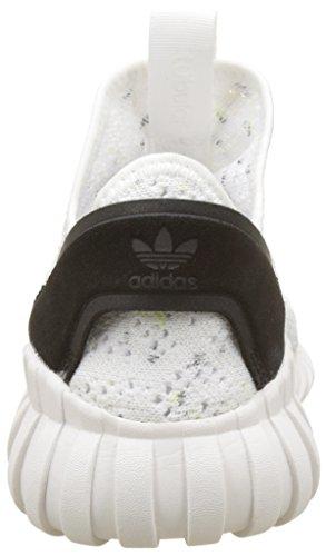 adidas Tubular Doom Sock Primeknit, Pantofole a Stivaletto Uomo Bianco (Footwear White/footwear White/core Black)