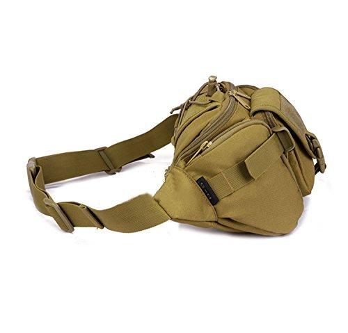 Yaagle Army Fans Outdoor Militare Da Uomo Borsa Da Torace Impermeabile Per Il Tempo Libero Hip Pack Borsa Da Viaggio Borsa Da Viaggio Bicicletta Zaino Borsa A Spalla Camouflage 2 Camouflage 1